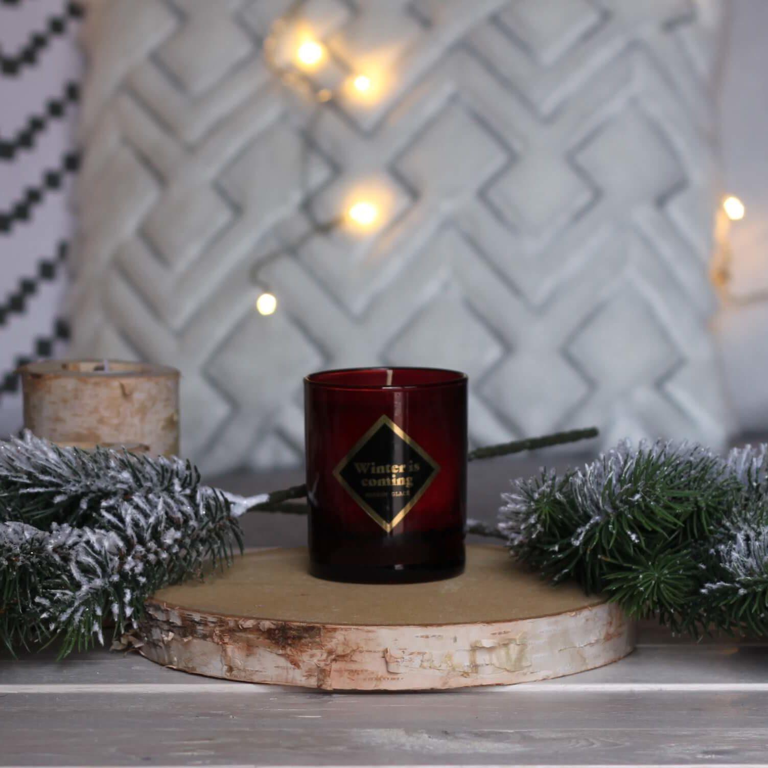 marron glac l 39 art os bougie parfum e naturelle. Black Bedroom Furniture Sets. Home Design Ideas