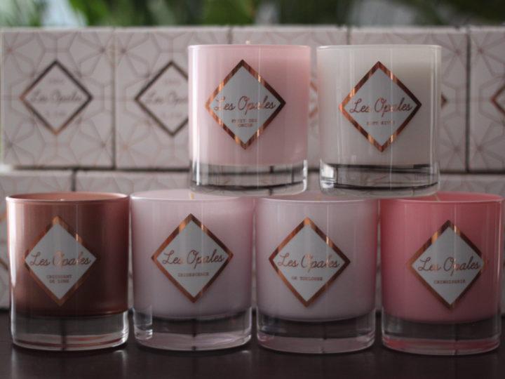 bougies parfumées saint valentin
